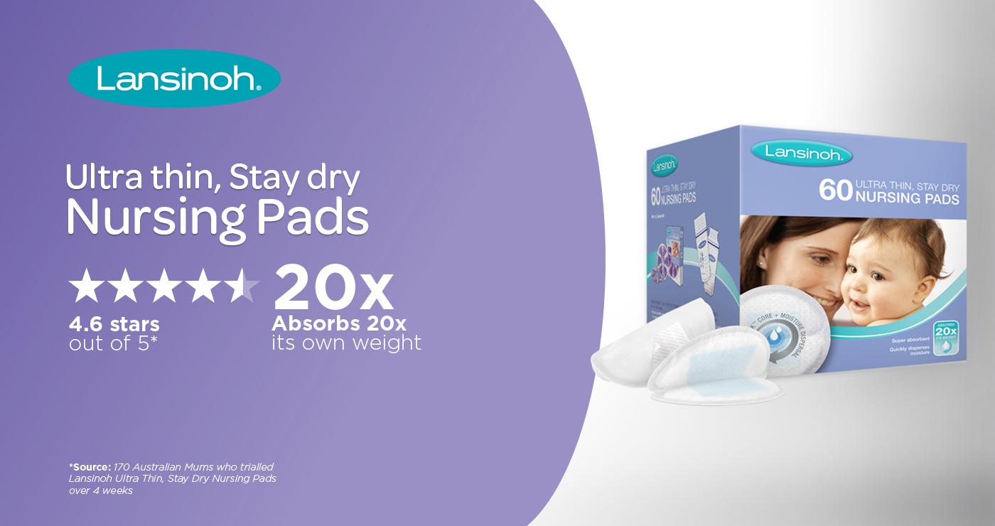 Lansinoh Ultra Thin Stay Dry Nursing Pads