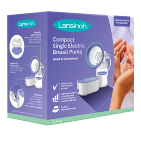 Lansinoh® COMPACT SINGLE ELECTRIC BREAST PUMP